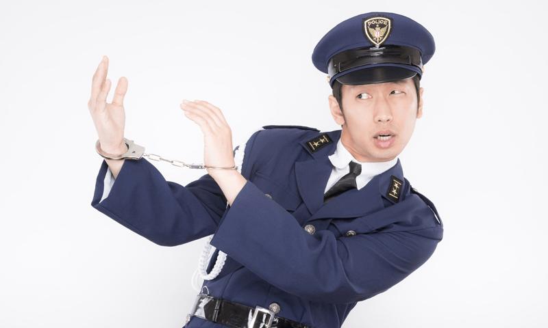 動かない警察(イメージ画像)