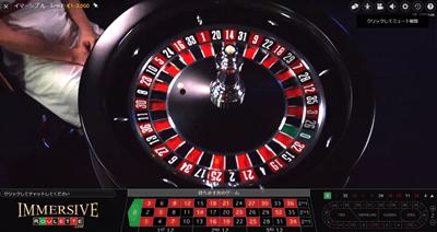 ライブカジノのルーレット