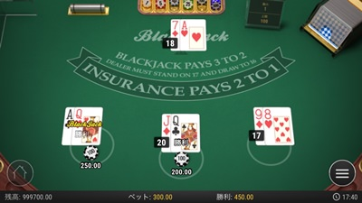 オンラインカジノのブラックジャック解説
