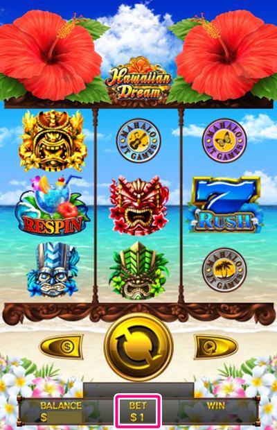 hawaiian dream を実際にプレイ1