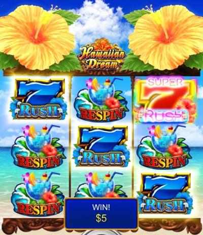 hawaiian dream を実際にプレイ3