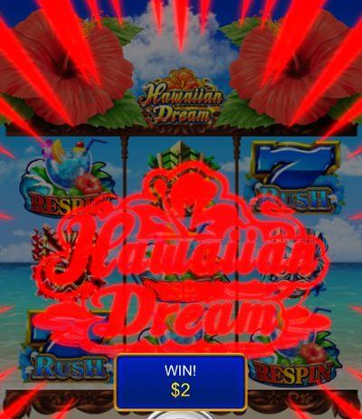 hawaiian dream を実際にプレイ6