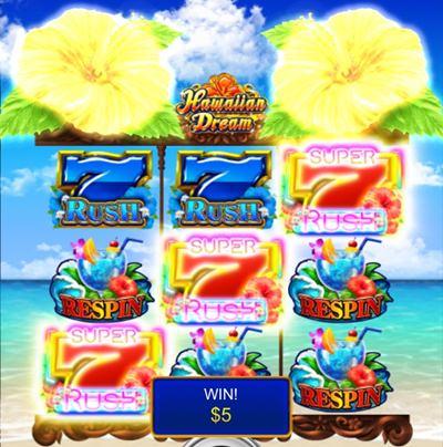 hawaiian dream を実際にプレイ7