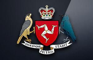 マン島のライセンス(ロゴ)