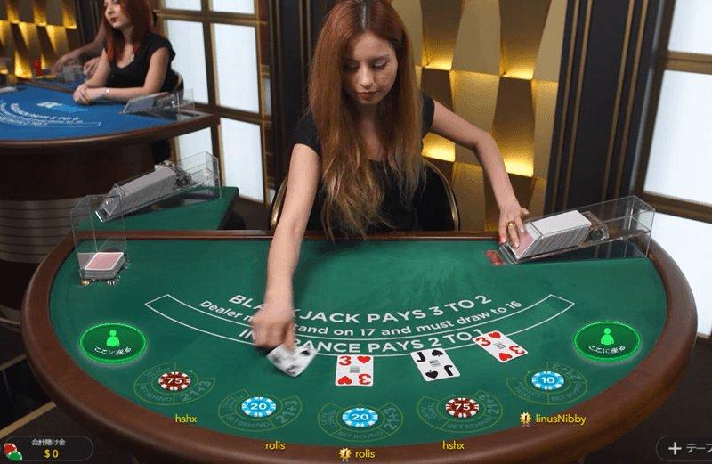 ベラジョンカジノのライブカジノを無料プレイする方法
