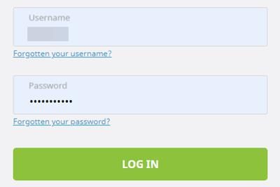 ecoPayzにログインする